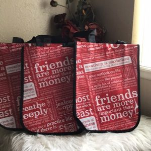 3 Lululemon Small Shopping Tote Bags